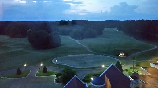 Grandover Resort and Conference Center: overlooking the putting green.