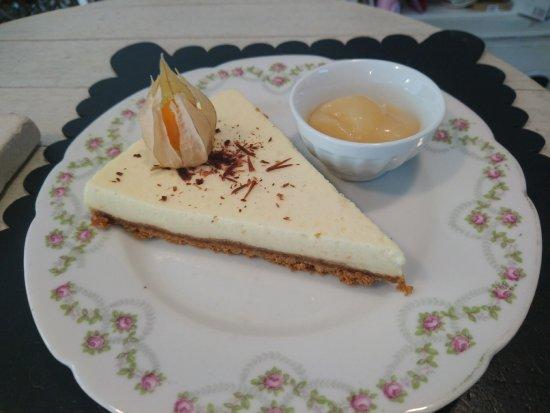 Saint-Estephe, Fransa: Cheese cake à la poire