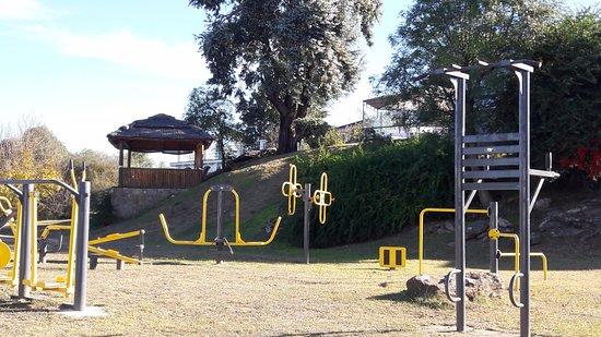 La Posada del Qenti Medical Wellness: gimnasio al aire libre