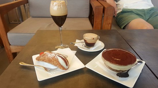 our late afternoon coffee and dessert - Picture of Caffe Gilli ... #afternoonCoffee