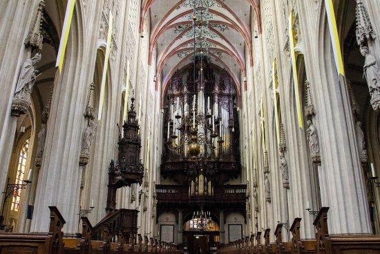 Sint Janskathedraal (St.-Johannes-Kathedrale): Nawa główna i organy
