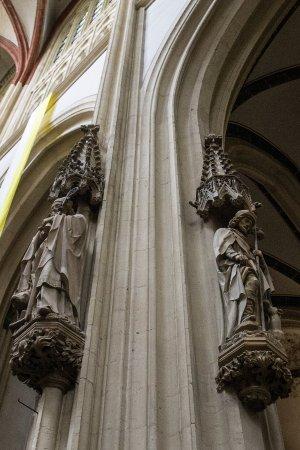 Sint Janskathedraal (St.-Johannes-Kathedrale): Rzeźby
