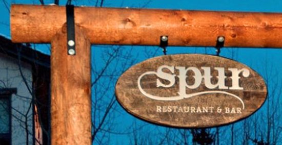 Teton Village, WY: The Outside sign for SPUR