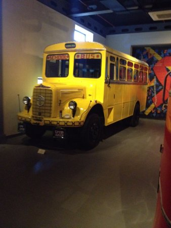 An Old Tata School Bus Picture Of Heritage Transport Museum