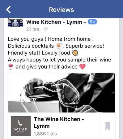 Lymm, UK: Love our customers