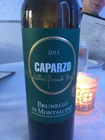 Mount Vernon, NY: A great Brunello to accompany a fabulous meal!