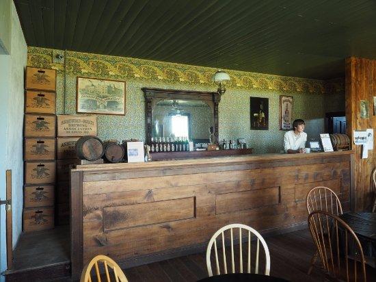 Troop's bar at Fort Laramie