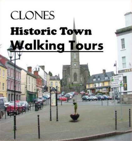 Clones, Irland: We offer #free hsitoric walking tours of our heritage town every Saturday at 11am in Summer.