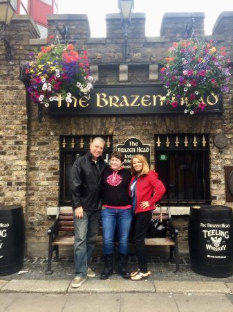 Our visit to The Brazen Head
