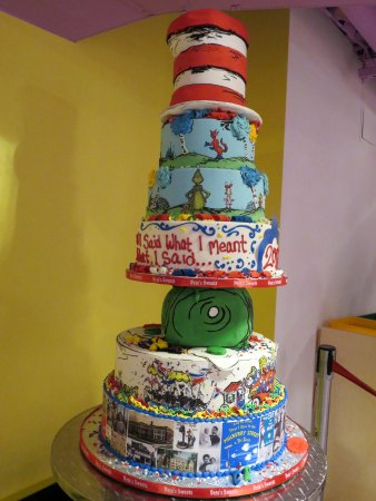 Dr. Seuss National Memorial Sculpture Garden: A special cake
