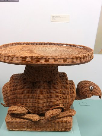 Dr. Seuss National Memorial Sculpture Garden: Yertle the Turtle table once sold at Sears.
