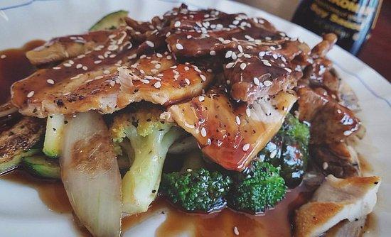 Andrews, ساوث كارولينا: Beef & Chicken Teriyaki