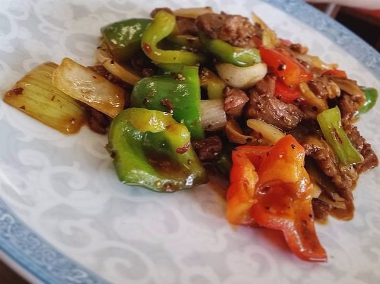 Andrews, เซาท์แคโรไลนา: Pepper Steak Teriyaki