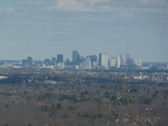 Blue Hills Reservation: View of Boston