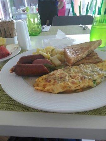 "Having breakfast at ""Spoon"""