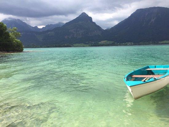 Landhaus zu Appesbach: Smaradgrünes Wasser wie in der Karibik