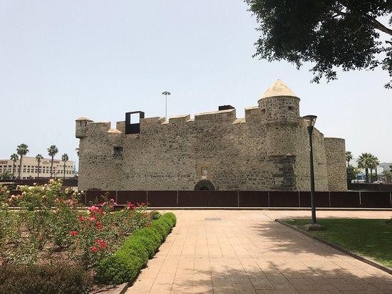 Castillo de La Luz: Внешний вид крепости.