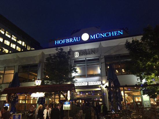 Window View - Picture of Hofbrau Wirtshaus Berlin, Berlin - Tripadvisor