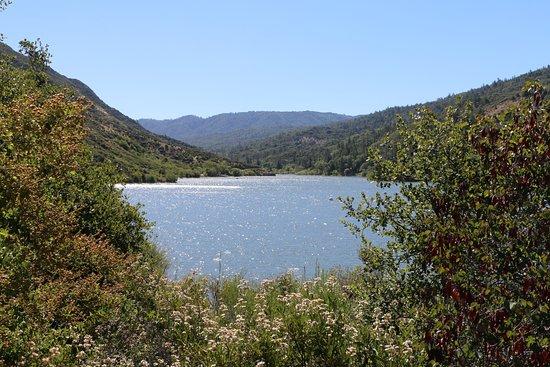 Hesperia, Kalifornien: View of the lake