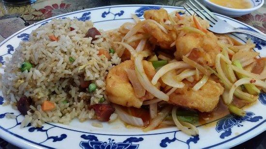 Kilmarnock, VA: Szechuan Shrimp.