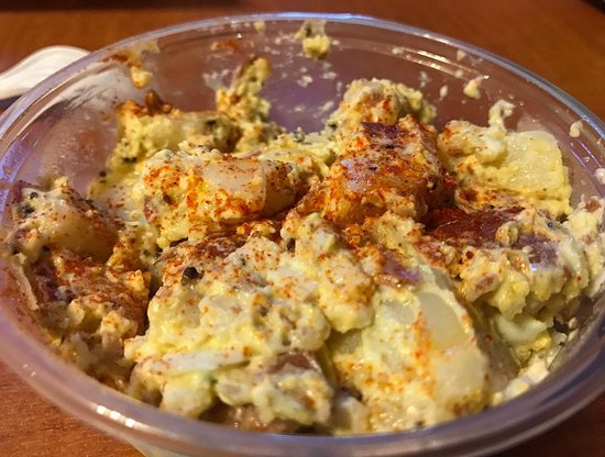 Newcastle, CA: Spicy potato salad