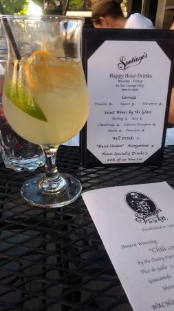 Yakima, WA: Margarita and Happy Hour Menu