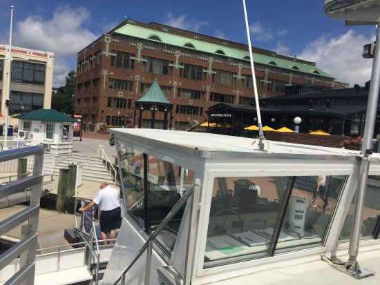 Alexandria, VA: View from the Riverboat toward the Ticket Boot