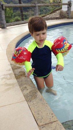 Areal, RJ: Um mergulho para relaxar.