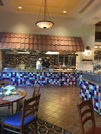 Walt Disney World Swan Resort A Breakfast Area Choice Was The Dolphin Hotel