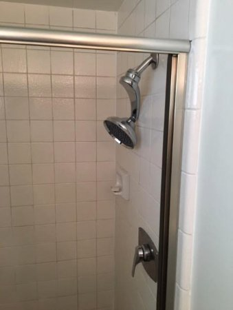 boon hotel & spa: cheapo showerhead