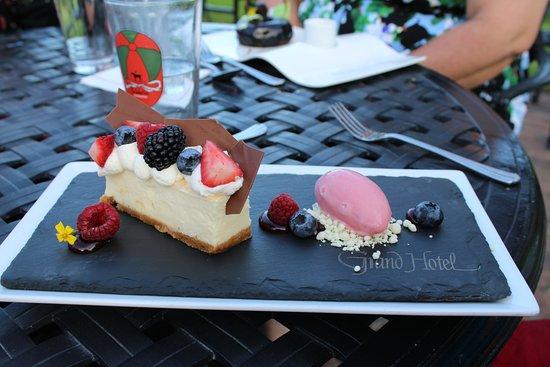 The Jockey Club: My dessert