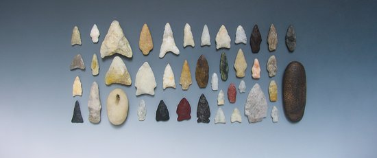 ‪‪Shelter Island‬, نيويورك: Shelter Island Lithics - Arrowhead Collection‬