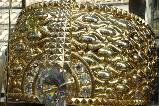 World s biggest gold ring that s not for sale Picture of Gold