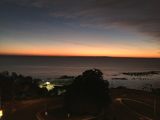 Redcliffe, Australia: View from my balcony in the early morning