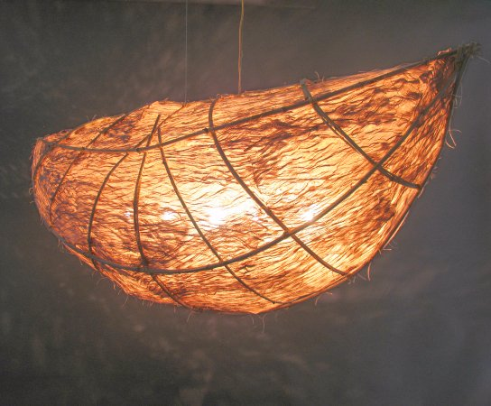 "Handwerklab Art Gallery: Kozo/Bamboo - Berceau (57""L x 22""W)"