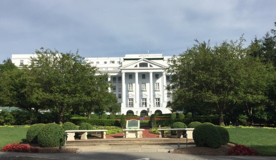 The Greenbrier: The North Entrance