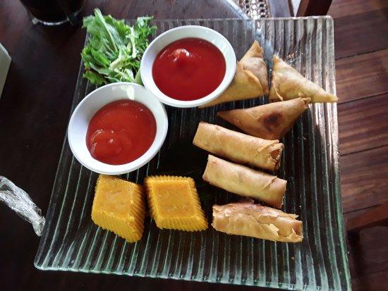 Plataran Canggu Resort & Spa: Afternoon tea