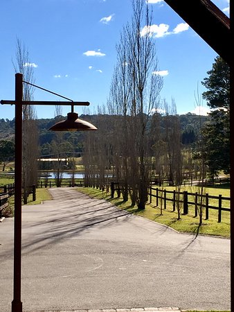 Berrima, Australia: view from conservatory