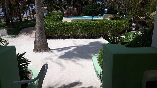 Hotel Akumal Caribe: our balcony