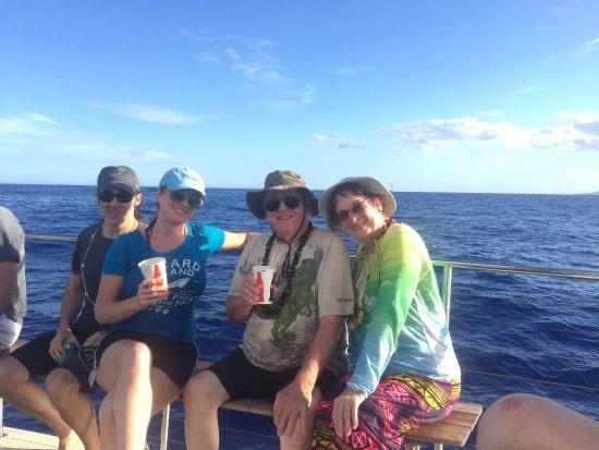 Lanai City, هاواي: Awesome adventure on the Trilogy sailing to Lanai!  June 2017