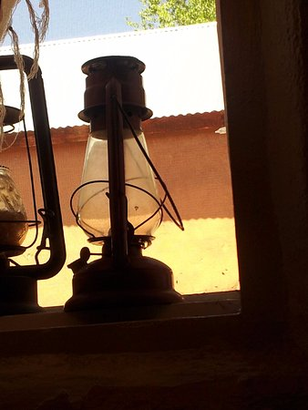 El Rito, NM: El Farolito is The Little Lantern. This is a pic of one of the windows in the restaurant.