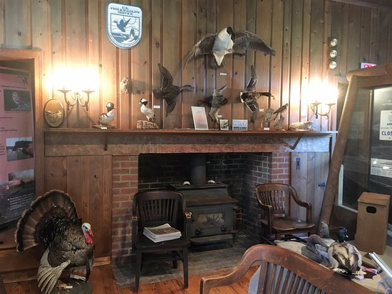Rock Hall, MD: Rustic visitor center