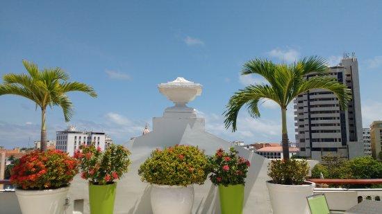 Hotel Monterrey: Terraço