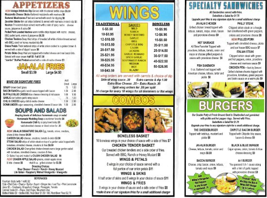 Hermitage, Pensilvania: menu