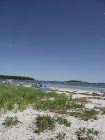 Maine Goose Rocks Beach