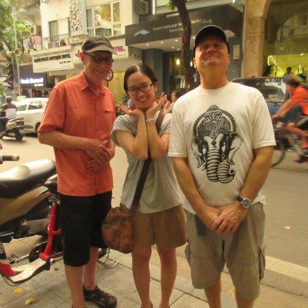 Hanoi La Selva Hotel My Guys With The Lovely Jenny Front