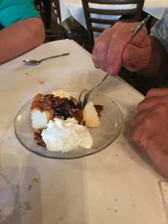 Oconomowoc, WI: Turtle cheese cake
