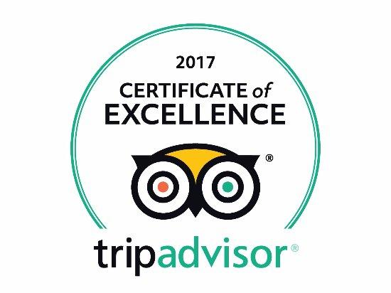 Royal Inn - Hudson: 2017 TripAdvisor Certificate of Excellence