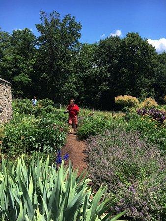 Olana State Historic Site : Gardens at Frederick Church estate - Olana