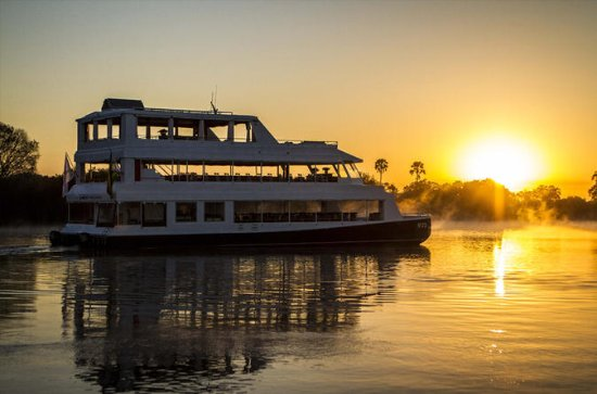 Sunset Cruise på Zambezi River